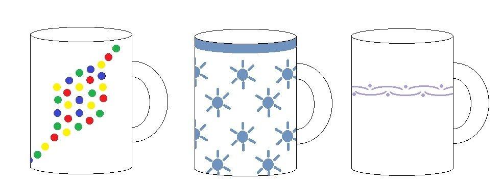 tassen bemalen vorlagen tassen bemalen f r eine fr hliche stimmung beim kaffee trinken tassen. Black Bedroom Furniture Sets. Home Design Ideas